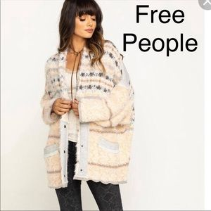 NWT Free People Fair Weather Cardigan
